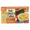 Edward & Sons Natural Bouillon Cubes - Not Chick n - 2.5 oz.. - Case of 12 HGR0154898