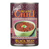Organic Medium Black Bean Chili - Case of 12 - 14.7 oz.