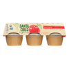 Santa Cruz Organic Apple Sauce - Case of 12 - 4 oz.. HGR0160036