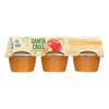 Santa Cruz Organic Apple Sauce - Apricot - Case of 12 - 4 oz.. HGR0160051