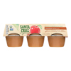 Santa Cruz Organic Apple Sauce - Cinnamon - Case of 12 - 4 oz.. HGR0160119