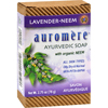 Clean and Green: Auromere - Bar Soap - Ayurvedic Lavender Neem - 2.75 oz
