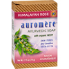 soaps and hand sanitizers: Auromere - Ayurvedic Bar Soap Himalayan Rose - 2.75 oz