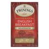 Twinings Tea Breakfast Tea - English Decaffeinated - Case of 6 - 20 Bags HGR 0170019