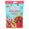 Torie & Howard Torie and Howard Chewie Fruities - Pomegranate and Nectarine - Case of 6 - 4 oz. HGR 01721836