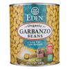 Eden Foods Organic Garbanzo Bean - Case of 6 - 108 oz. HGR0175935