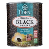 Black Beans Canned - Case of 6 - 108 oz.