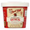 Bob's Red Mill Gluten Free Oatmeal Cup, Apple and Cinnamon - 2.36 oz. - Case of 12 HGR 01770577