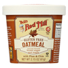 Bob's Red Mill Gluten Free Oatmeal Cup, Brown Sugar and Maple - 2.15 oz. - Case of 12 HGR 01770635
