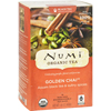 Golden Chai Spiced Assam Black Tea - 18 Tea Bags - Case of 6