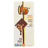 Theo Chocolate Salted Toffee - 55 Percent Dark Chocolate - Case of 12 - 3 oz. HGR 01803584