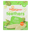 Happy Baby Gentle Tethers - Pea and Spinach - Case of 6 - 1.7 oz. HGR 01809979