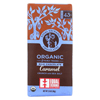 Equal Exchange Organic Dark Chocolate Caramel Crunch with Sea Salt - Caramel Crunch - Case of 12 - 2.8 oz. HGR 01814714