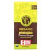 Equal Exchange Organic Dark Chocolate Lemon Ginger with Black Pepper - Lemon Ginger - Case of 12 - 2.8 oz. HGR01814722