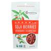Essential Living Foods Goji Berries - Antioxidant - Case of 6 - 6 oz. HGR 01829456