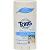 Tom's of Maine Natural Deodorant Aluminum Free Honeysuckle Rose - 2.25 oz - Case of 6 HGR 0183061
