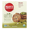 Mary's Gone Crackers Super Seed - Basil$ Garlic - Case of 6 - 5.5 oz. HGR 01831205