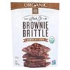 Organic Brownie Brittle - Chocolate Chip - Case of 12 - 5 oz.