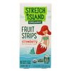 Organic Fruit Strips - Strawberry - Case of 12 - 3 oz.