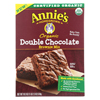 Annie's Homegrown Organic Double Chocolate Brownie Mix - Case of 8 - 18.3 oz. HGR 01855253