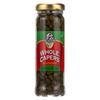 Capers - Whole - Non Pariels - 3.5 oz.. - case of 6