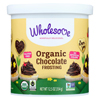 Wholesome Sweeteners Organic Frosting - Chocolate - Case of 6 - 12.5 oz. HGR 01882513