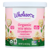 Wholesome Sweeteners Organic Frosting - White Strawberry - Case of 6 - 12.5 oz. HGR 01882521