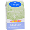 Clean and Green: Gladrags - Color Cotton Day Pad - 1 Pack