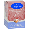 Clean and Green: Gladrags - Color Night Time Pads - 1 Pack