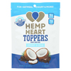 Manitoba Harvest Hemp Heart Toppers - Coconut & Cocoa - Case of 12 - 4.4 oz. HGR 01896125