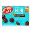 Soft Baked Minis - Double Chocolate Brownie - Case of 6 - 6 oz.