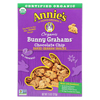 Annie's Homegrown Bunny Grahams Chocolate Chip - Case of 12 - 7.5 oz. HGR01989870