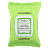 Clean and Green: Babo Botanicals - Cucumber and Aloe Vera Wipes - Case of 4 - 30 Count