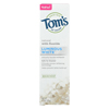 Clean and Green: Tom's Of Maine - Toothpaste - Luminous - Spearmint - Case of 6 - 4.7 oz.