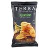 Terra Chips Veggie Chips - Plantains with Sea Salt - Case of 12 - 5 oz. HGR 02012599
