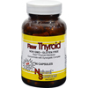 Natural Sources Raw Thyroid - 90 Capsules HGR 0202259