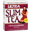 Hobe Labs Ultra Slim Tea Cran-Raspberry - 24 Tea Bags HGR 208264
