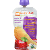 snacks: Happy Baby - Happy Tot Toddler Food - Organic - Stage 4 - Apple and Butternut Squash - 4.22 oz - case of 16