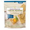 Crackers - Tuscan Peasant Simply Olive Oil and Sea Salt - Case of 12 - 3.54 oz.