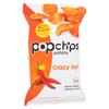 Potato Chip - Crazy Hot - Case of 12 - 5 oz.
