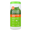 Seventh-generation-wipes: Seventh Generation - Disinfecting Wipes - Multi Surface Lemongrass Citrus - 35 ct - Case of 12