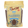 Bob's Red Mill Flaxseeds - Gluten Free - Case of 6 - 13 oz. HGR02153229
