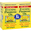 American Health Royal Brittany Evening Primrose Oil - 500 mg - 2 Bottles of 200 Softgels HGR0216267