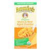 Annie's Homegrown Organic Shells and Real Aged Cheddar Macaroni and Cheese - Case of 12 - 6 oz. HGR 0220319