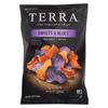 Terra Chips Chip - Sweets & Blues - Sea Salt - Case of 12 - 5.75 oz. HGR 02206902