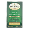 Breakfast Tea - Irish Decaf - Case of 6 - 20 Bags