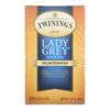 Twinings Tea Black Tea - Lady Grey - Case of 6 - 20 Bags HGR 0222364