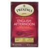 Twinings Tea Black Tea - English Afternoon - Case of 6 - 20 Bags HGR 0222521