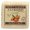Ring Panel Link Filters Economy: A La Maison - Bar Soap - Sweet Almond - Case of 6 - 3.5 oz.
