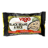 Vigo Black Bean and Rice - Case of 12 - 8 oz. HGR 0225987